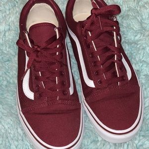 Vans Shoes - Vans (color:Burgundy/Maroon)